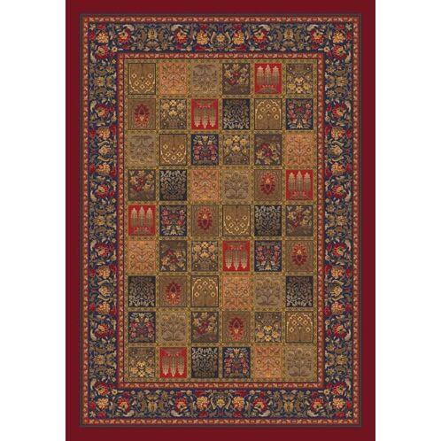 Pastiche Kashmiran Pristina Midnight Red Area Rug Rug Size: Rectangle 10'9