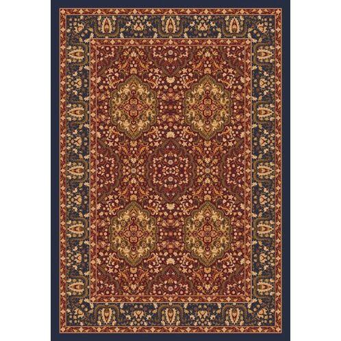 Pastiche Kashmiran Samarra Midnight Area Rug Rug Size: Octagon 7'7