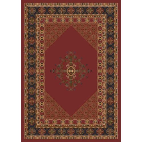 Pastiche Kashmiran Terkan Chili Area Rug Rug Size: Rectangle 7'8