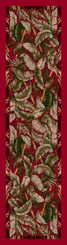 Signature Jungle Fever Ruby Area Rug Rug Size: Square 7'7