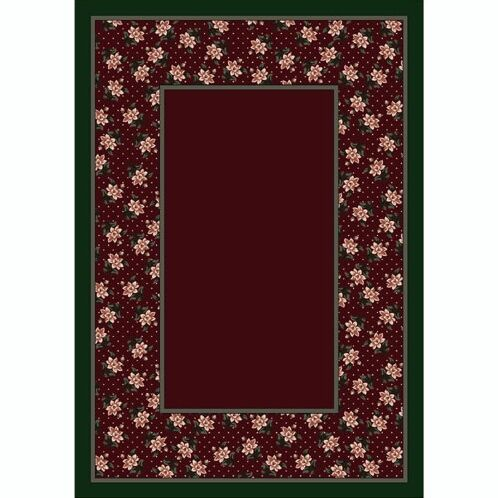Design Center Garnett Rambling Rose Area Rug Rug Size: Rectangle 7'8