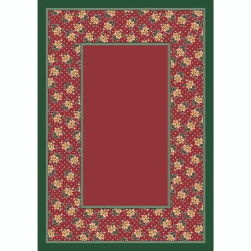 Design Center Rose Quartz Rambling Rose Area Rug Rug Size: Rectangle 10'9