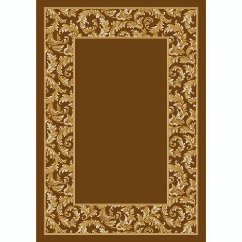 Design Center Goden Amber Corinthius Area Rug Rug Size: Runner 2'4