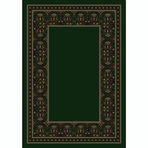 Design Center Emerald Turkoman Area Rug Rug Size: Round 7'7