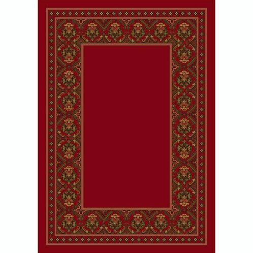 Design Center Brick Turkoman Area Rug Rug Size: Rectangle 7'8