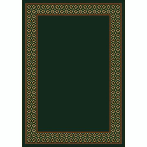 Design Center Emerald Foulard Area Rug Rug Size: Runner 2'4