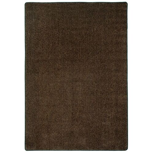 Modern Times Harmony Brown Area Rug Rug Size: Rectangle 7'8