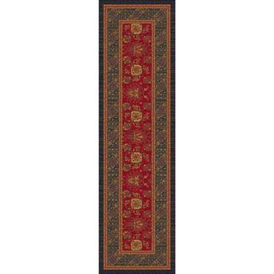 Pastiche Karshi Red Cinnamon Runner Rug Size: Rectangle 2'1