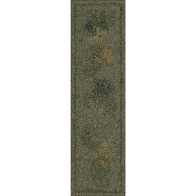 Pastiche Vintage Cilantro Runner Rug Size: 2'1