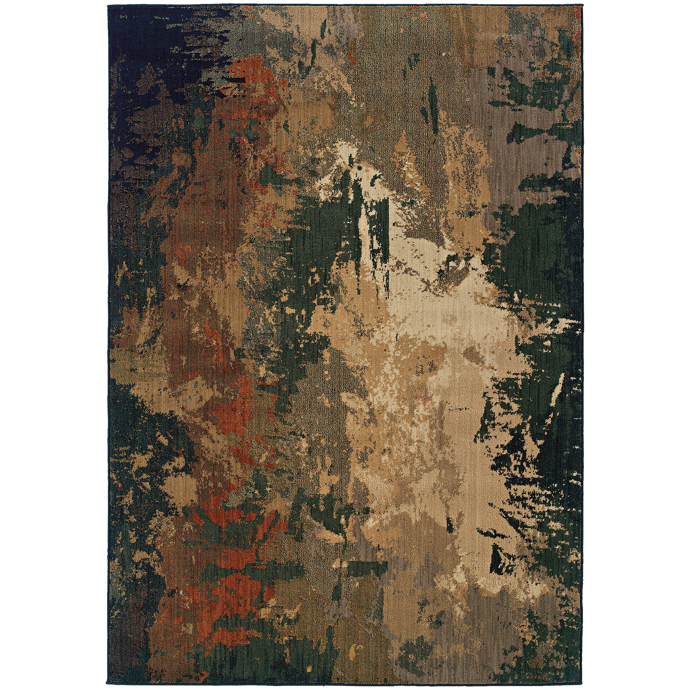 Fairhaven Brown Area Rug Rug Size: Rectangle 7'8