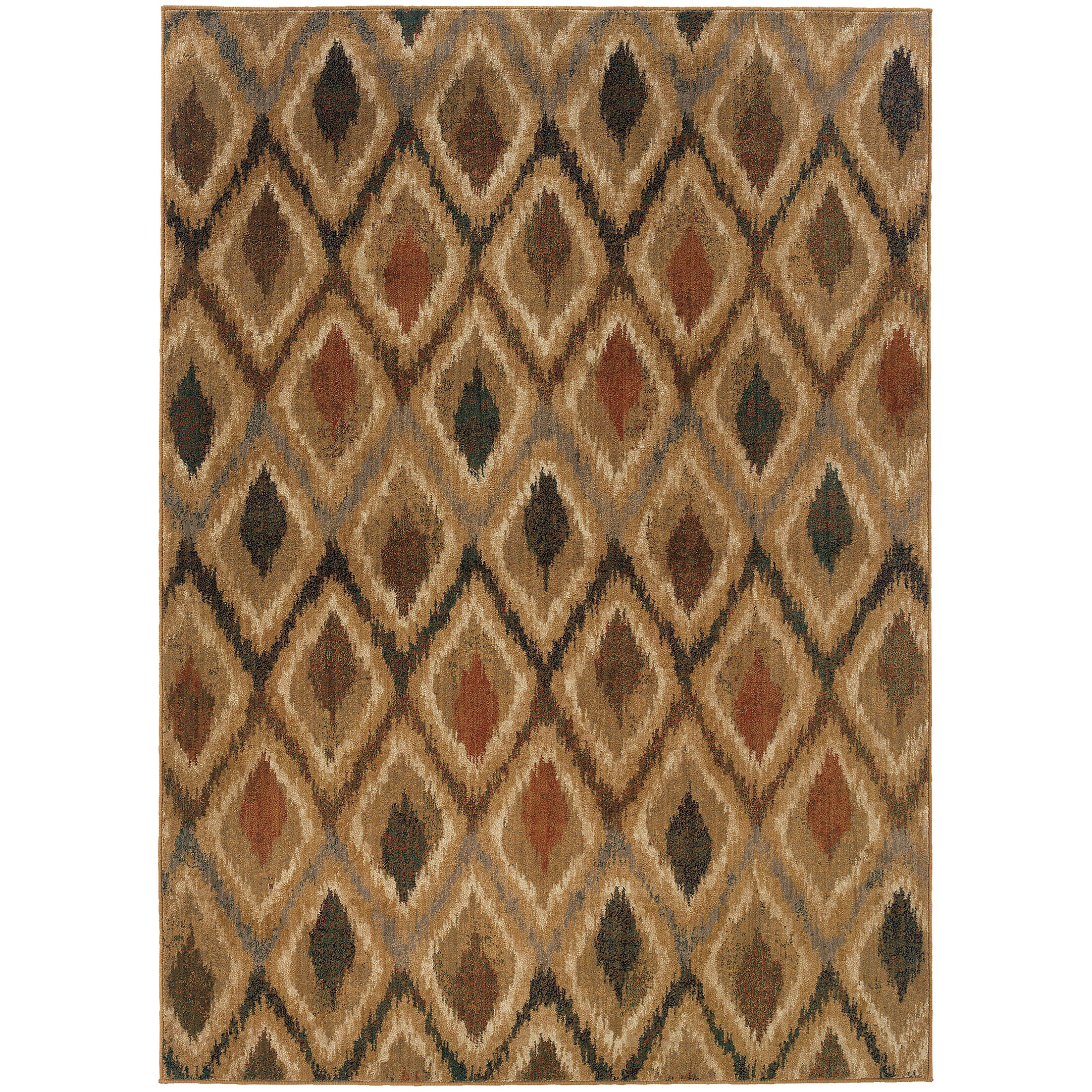 Johan Beige/Gray Area Rug Rug Size: Rectangle 5'3