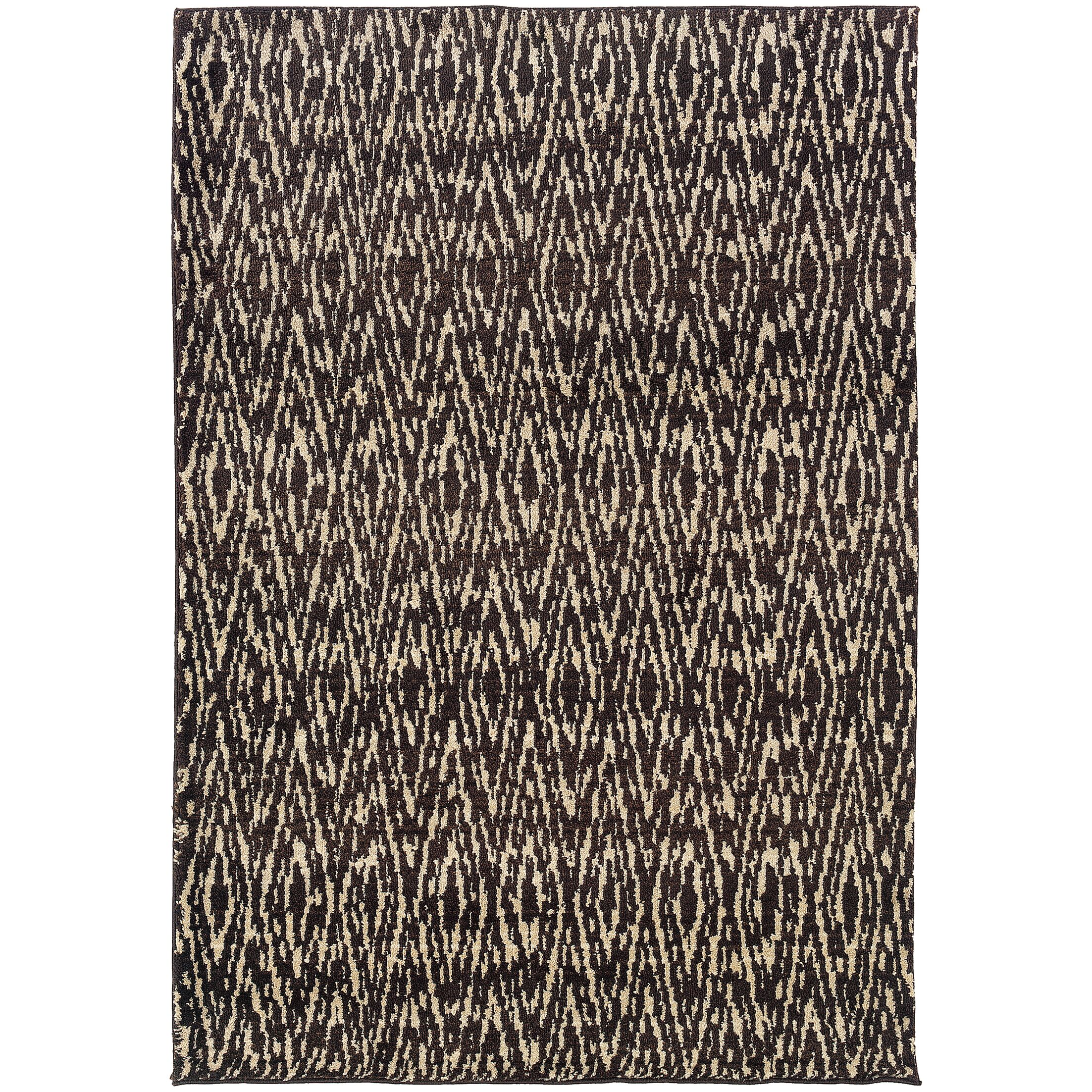 Feltner Ivory/Gray Area Rug Rug Size: Rectangle 5'3