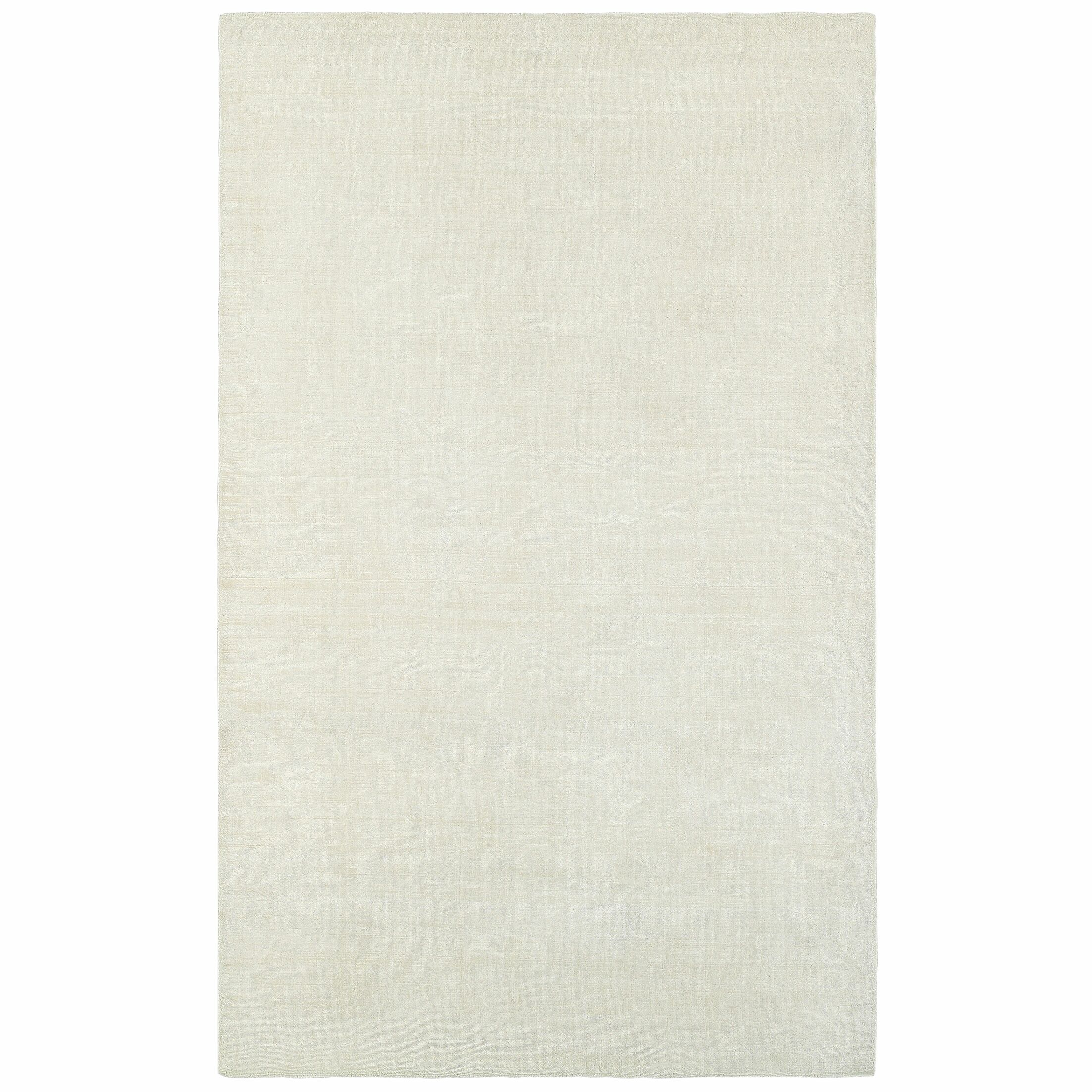 Grimes Plush Hand Tufted Ivory Area Rug Rug Size: Rectangle 8' x 10'
