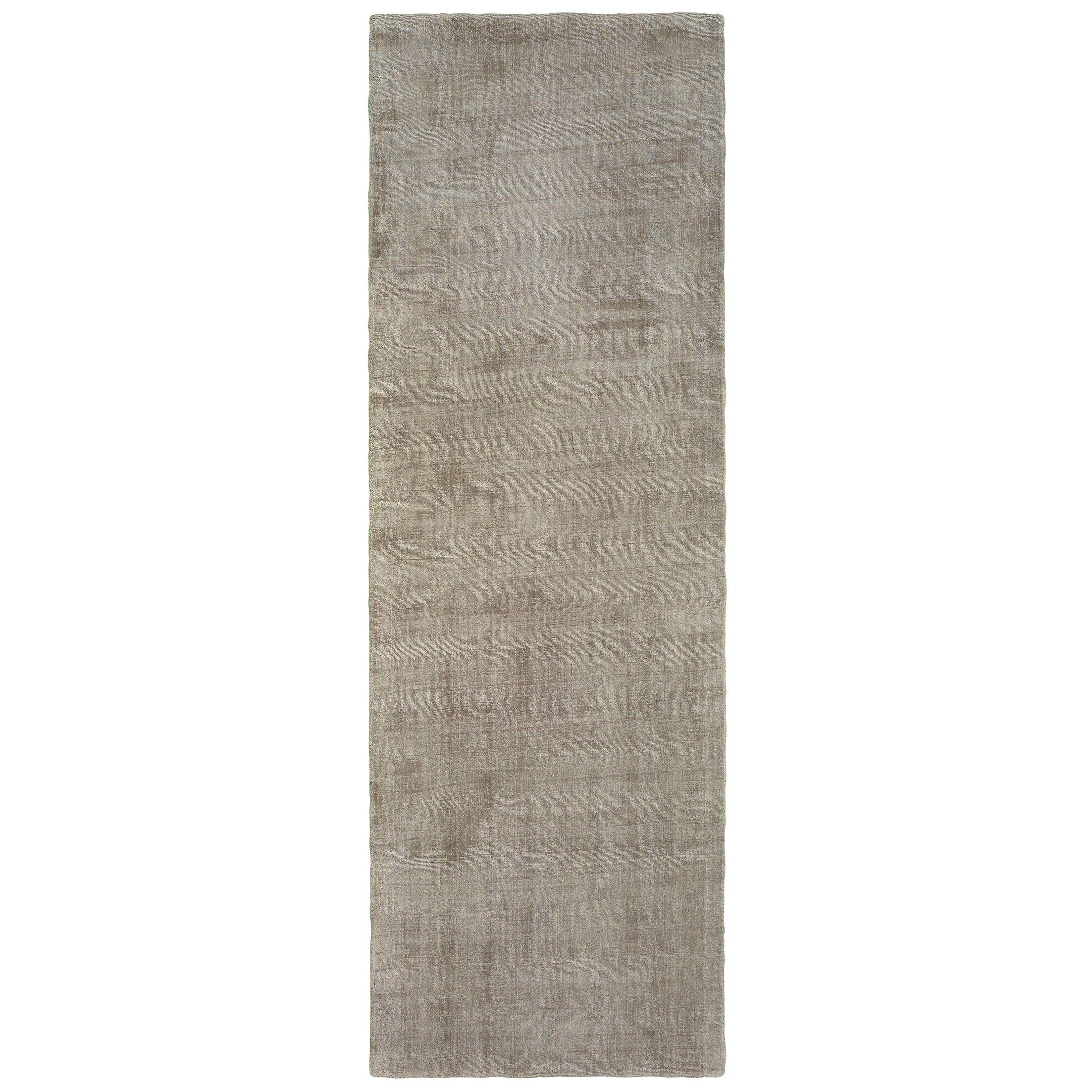 Grimes Plush Hand-Tufted Beige Area Rug Rug Size: Runner 2'6