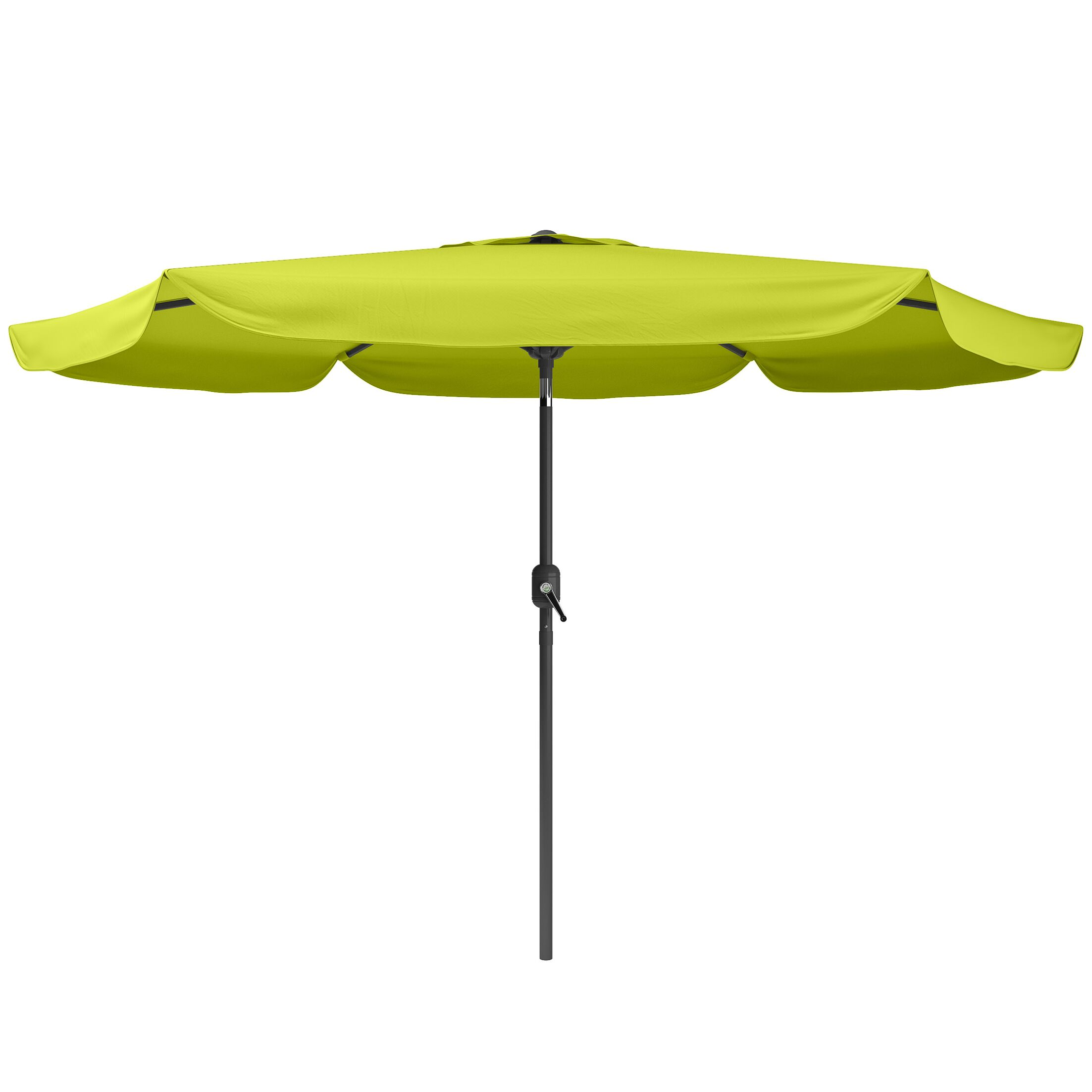 Corliving 10' Market Umbrella Fabric Color: Lime Green