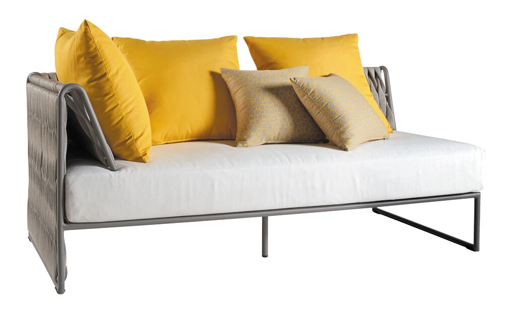 Pascarella Left Arm Loveseat with Cushions Fabric: Gray