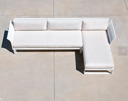 Sofa Cushion Fabric: Blanc