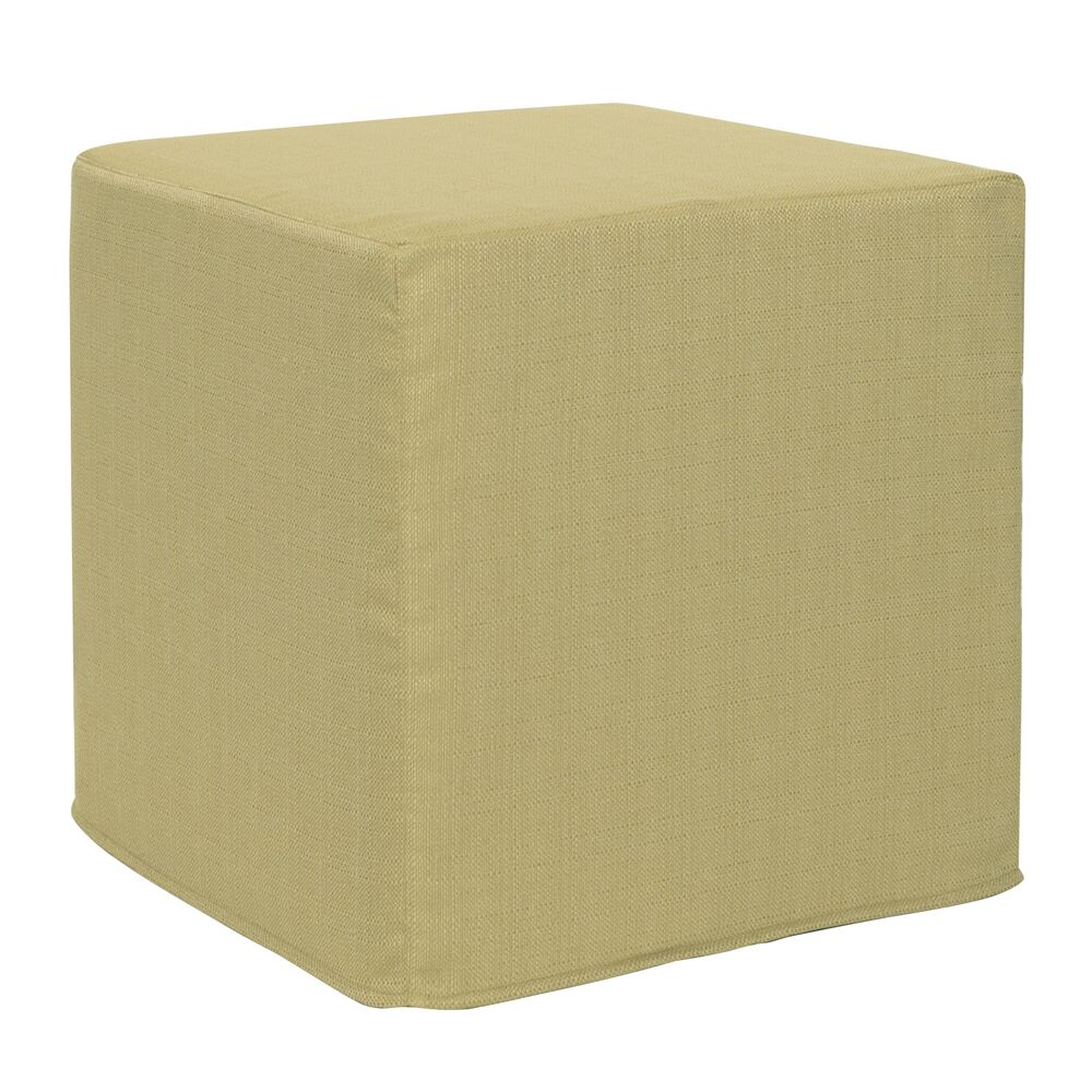 Contreras Sterling Cube Ottoman Upholstery: Willow