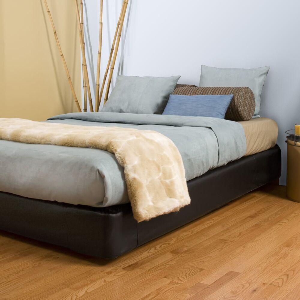 Upholstered Panel Bed Color: Black, Size: Full