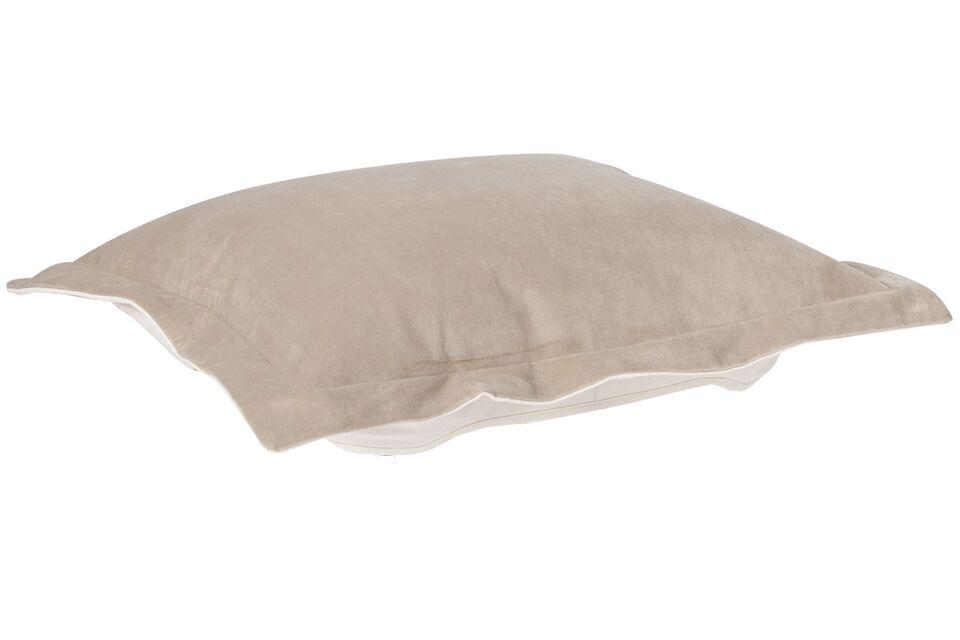 Azaria Throw Pillow Color: Bella Sand