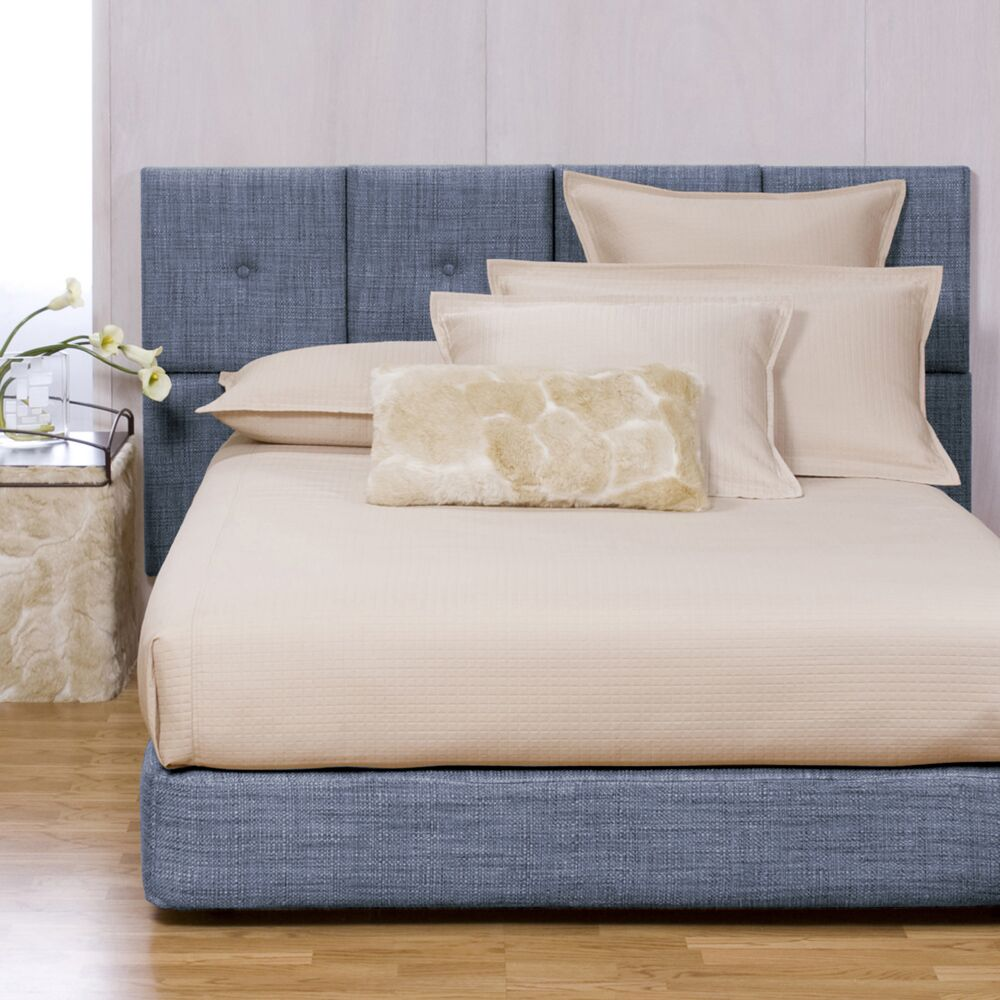 Gosnell Upholstered Panel Bed Size: King, Color: Coco Sapphire