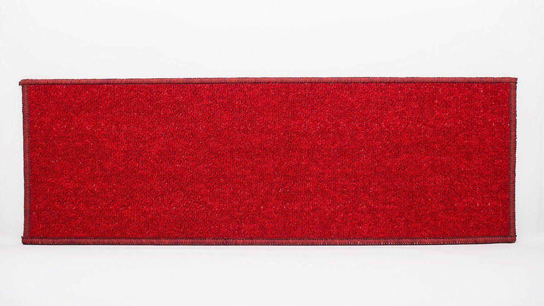 Kawakami Non-Slip Carpet Red Stair Treads Quantity: 21