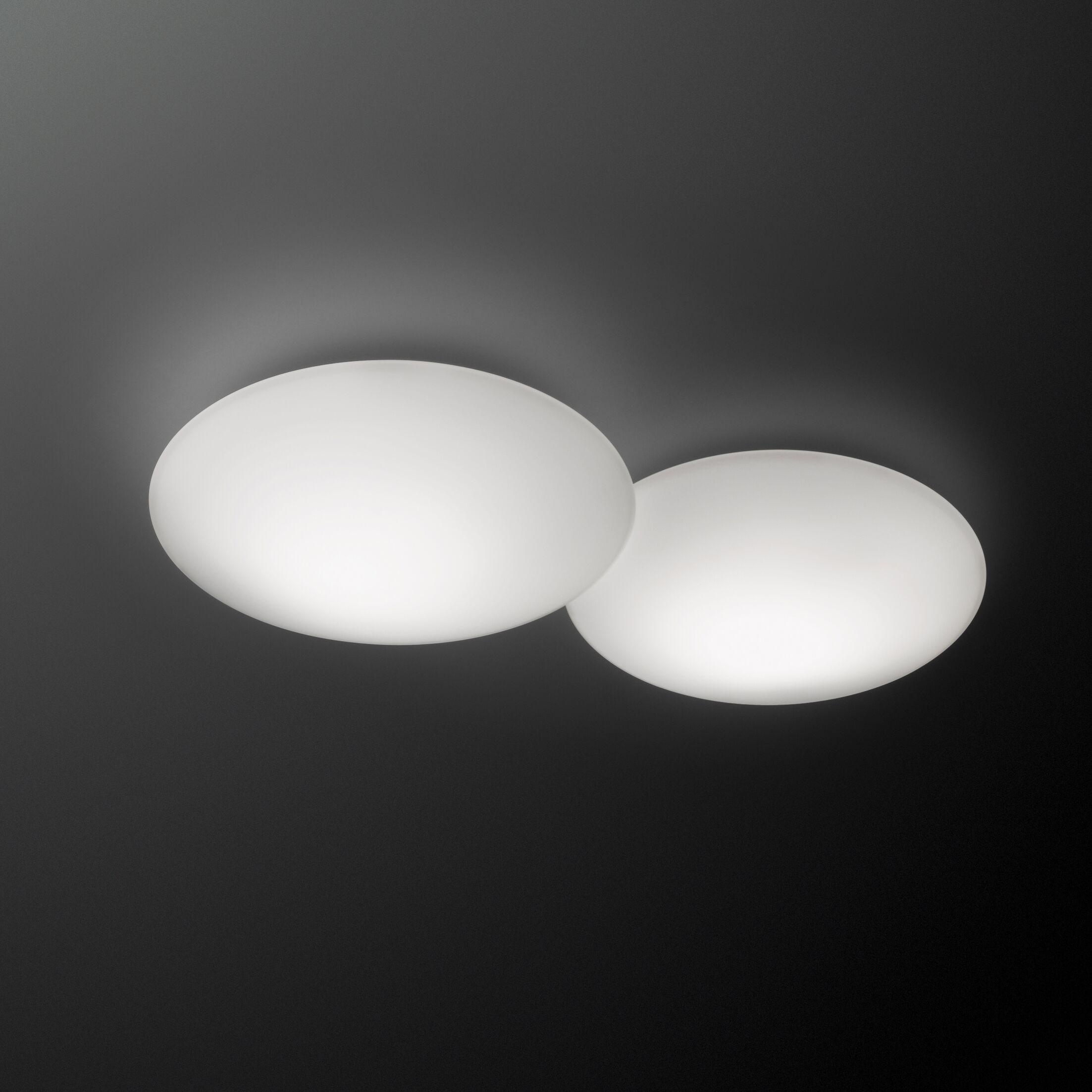 Puck 2-Light Flush Mount Size: 18.5