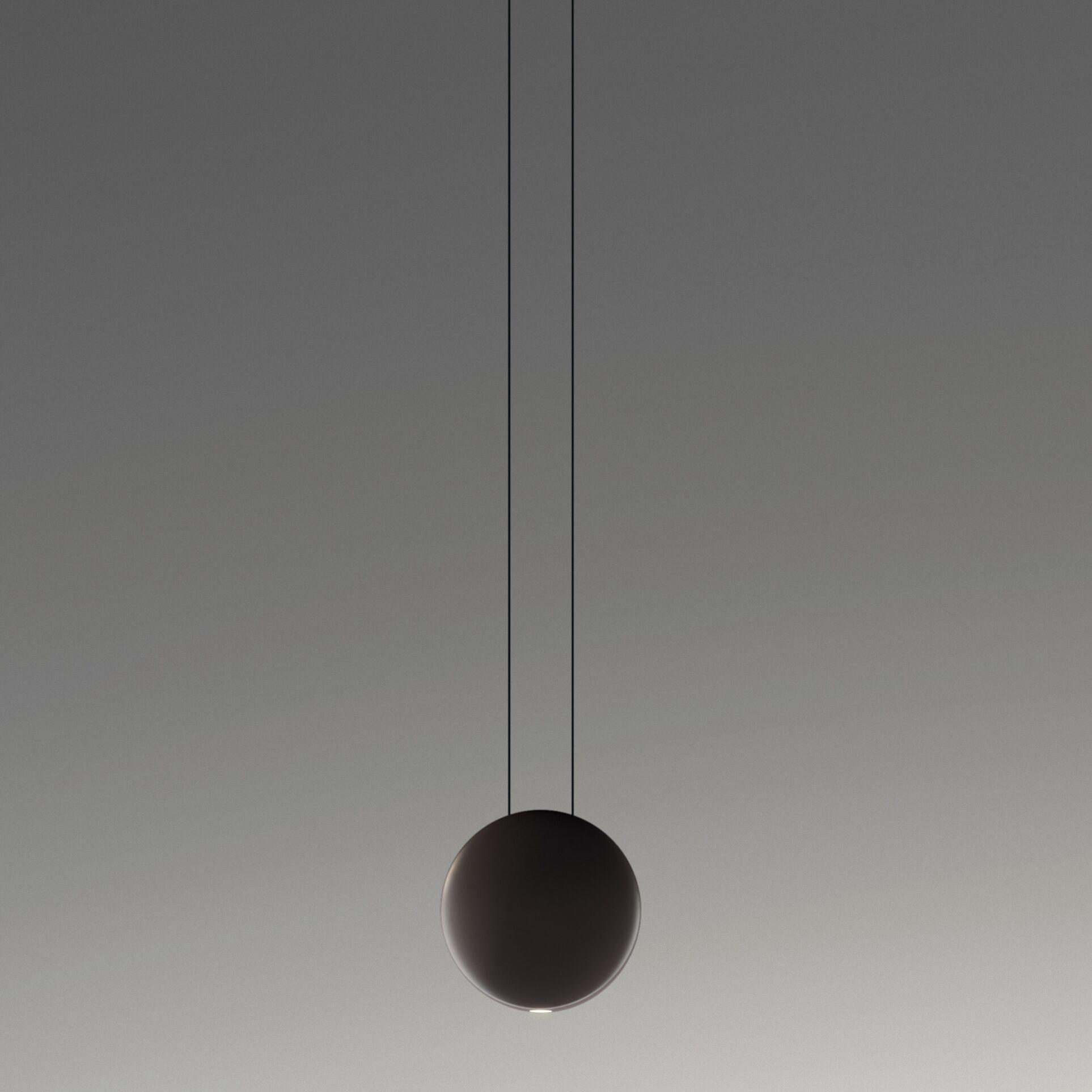Satellite 1-Light Globe Pendant Finish: Matte Chocolate