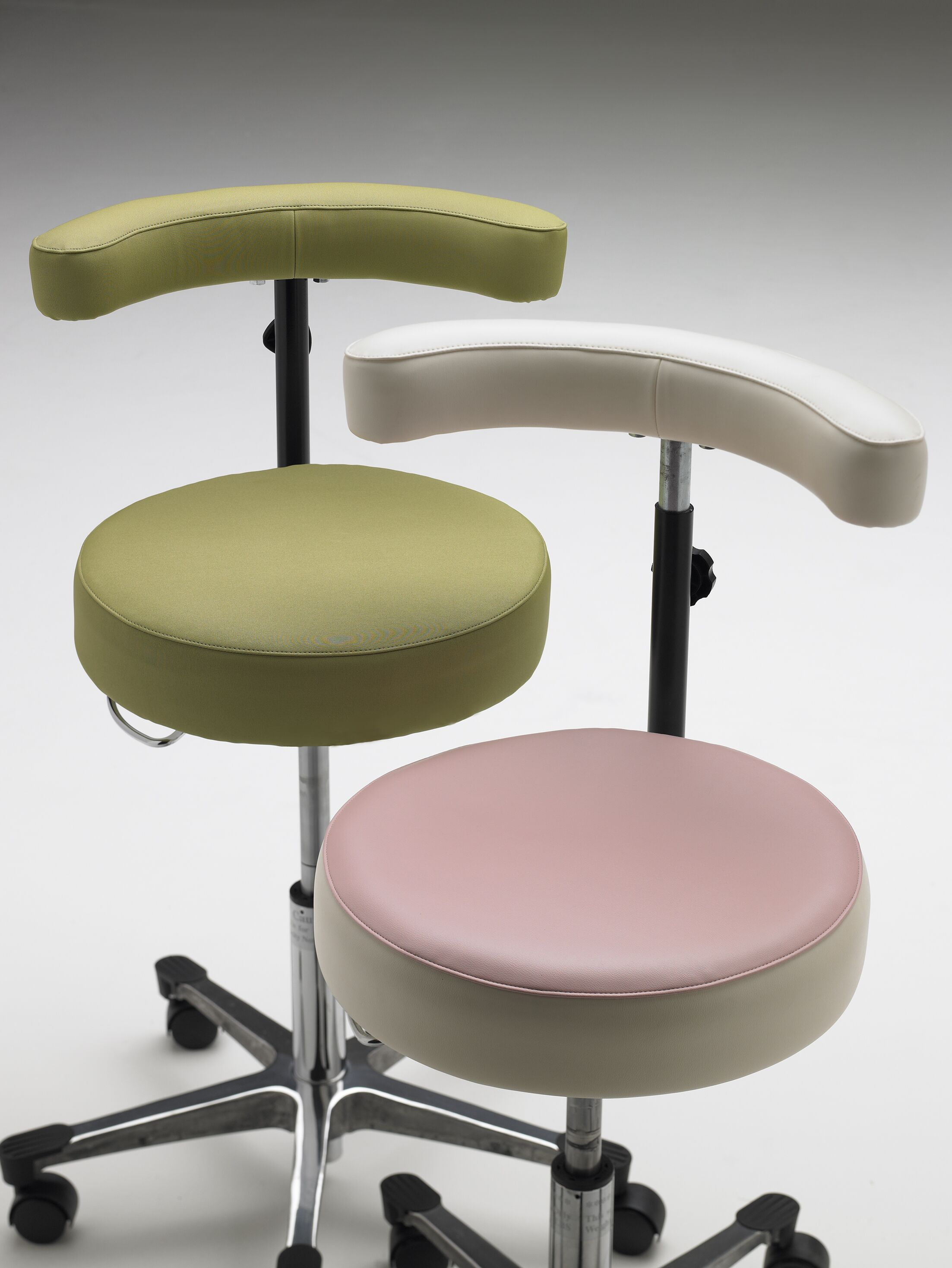 Guest Chair Base Color: Flat Aluminum Base with Toe Caps