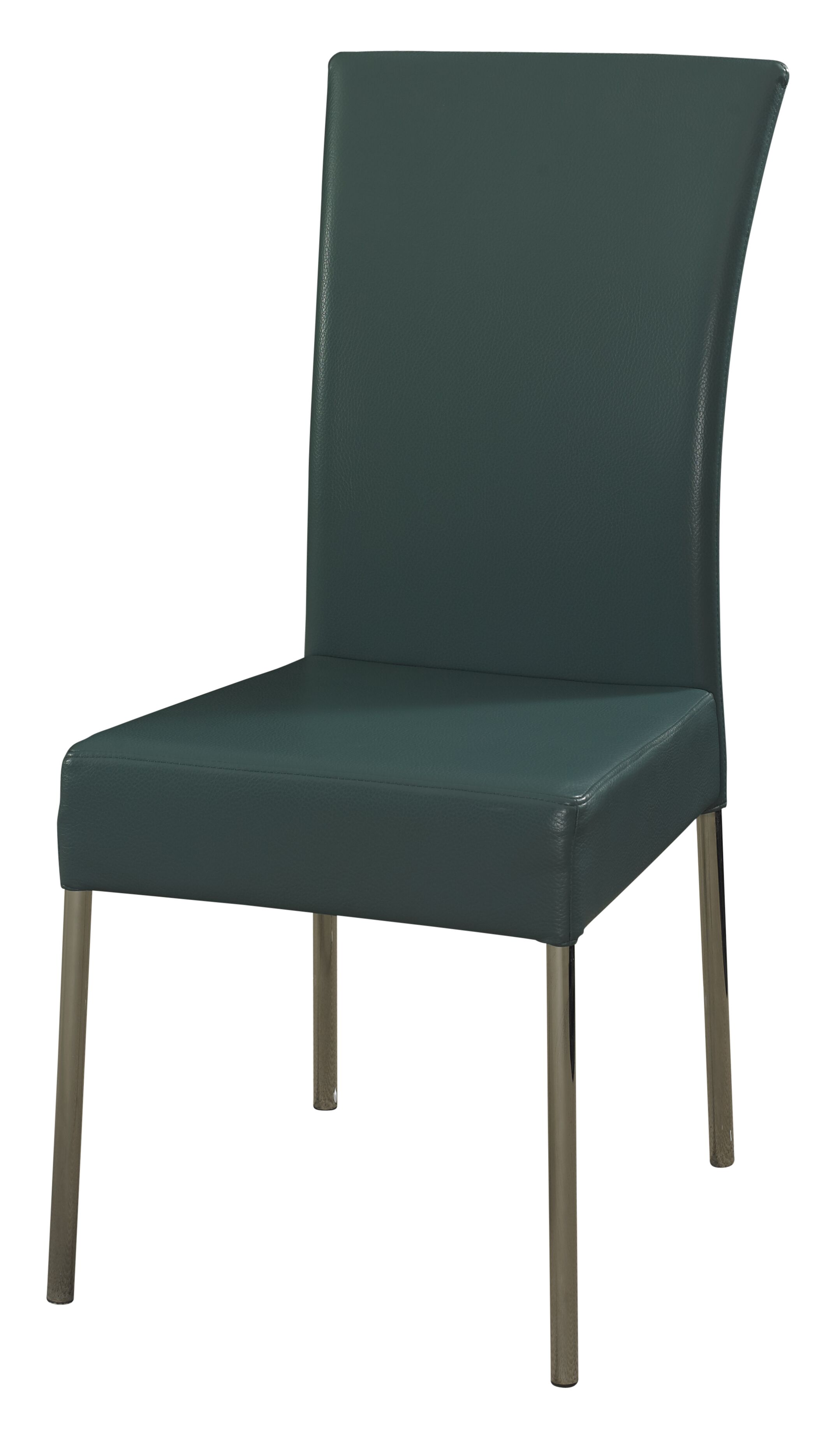 Upholstered Dining Chair Upholstery Color: Teal