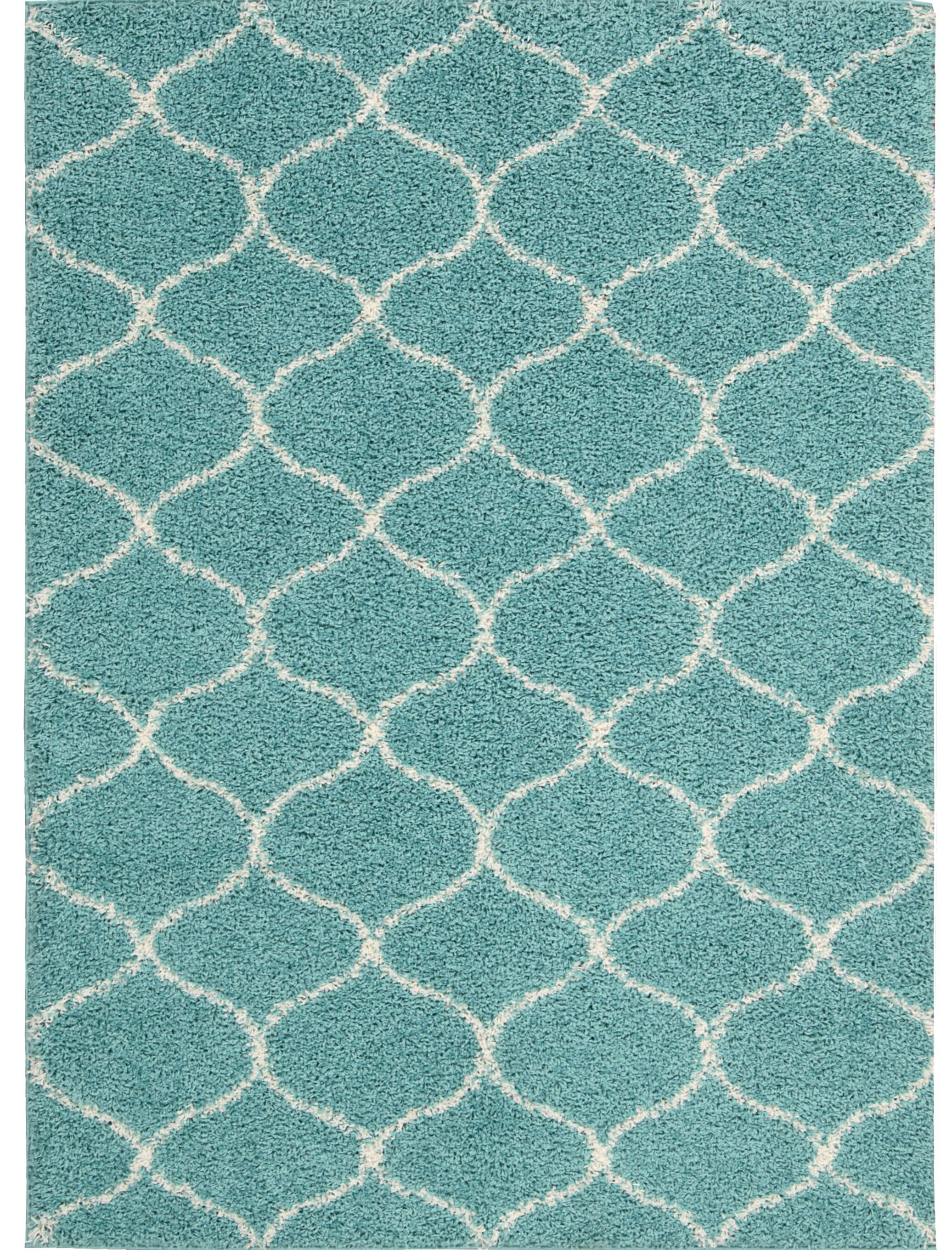 Addison Teal Area Rug Rug Size: Rectangle 5' x 7'