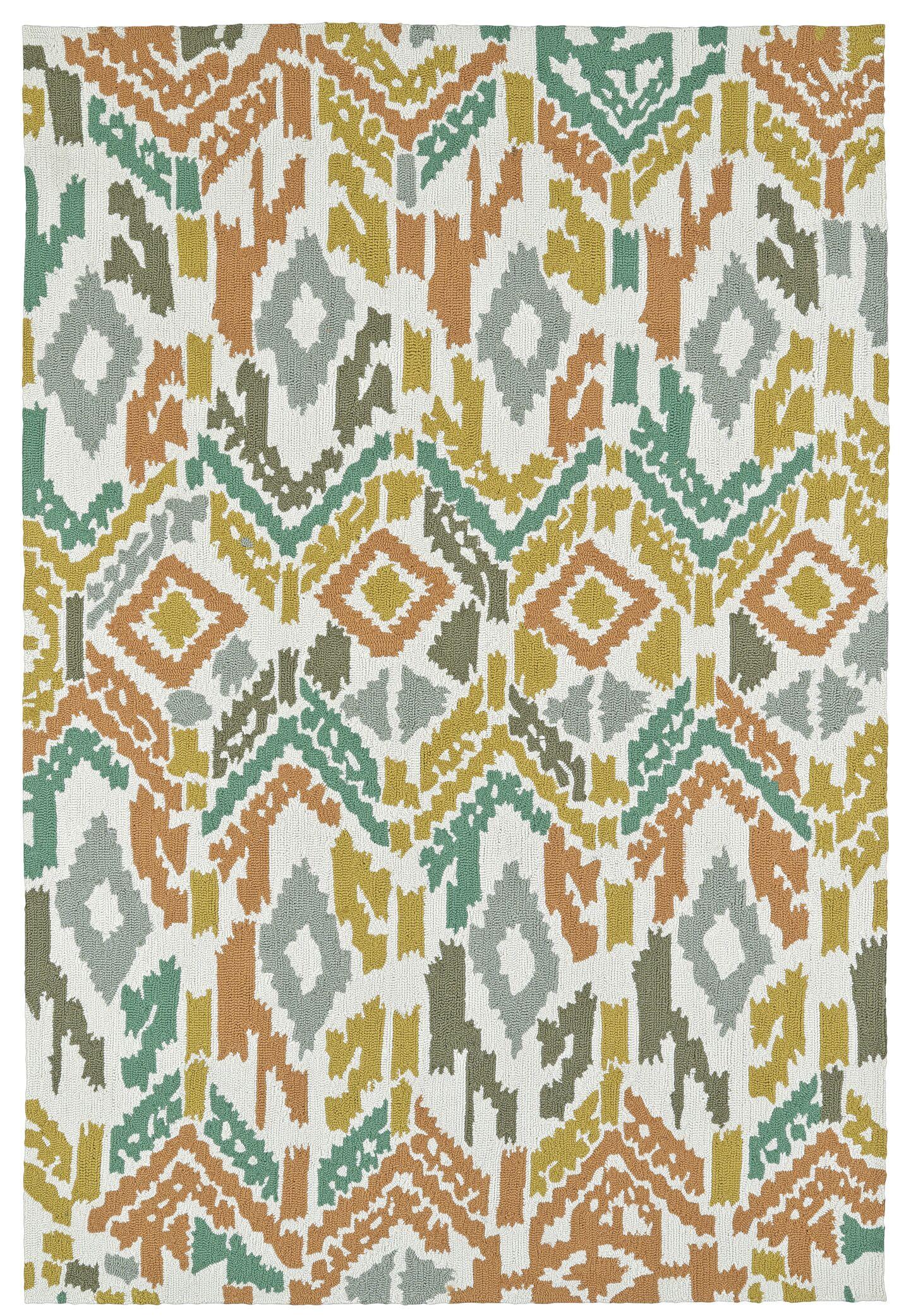 Michele Handmade Indoor / Outdoor Area Rug Rug Size: Rectangle 8' x 10'