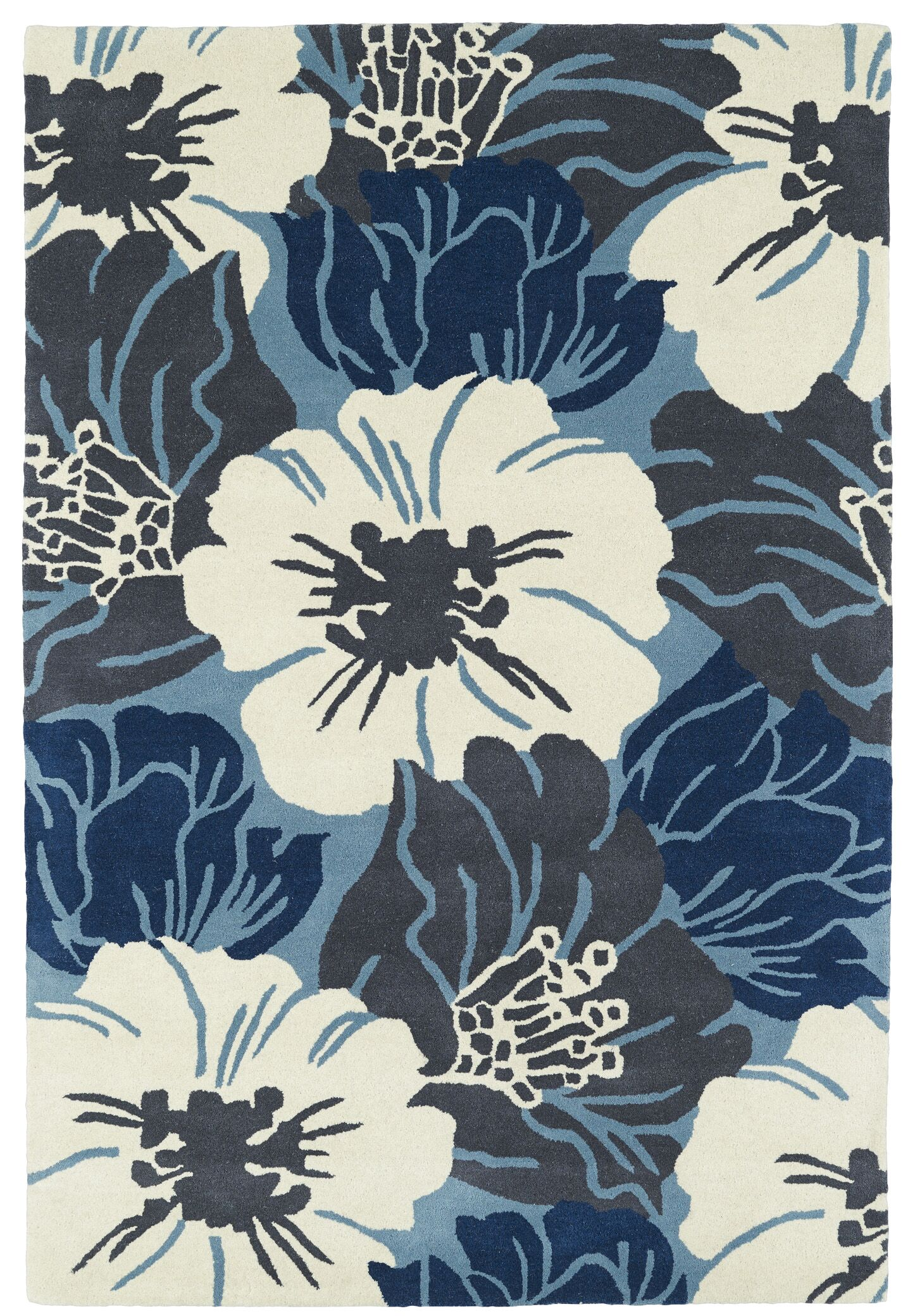 Talitha Hand-Tufted Area Rug Rug Size: Rectangle 8' x 10'