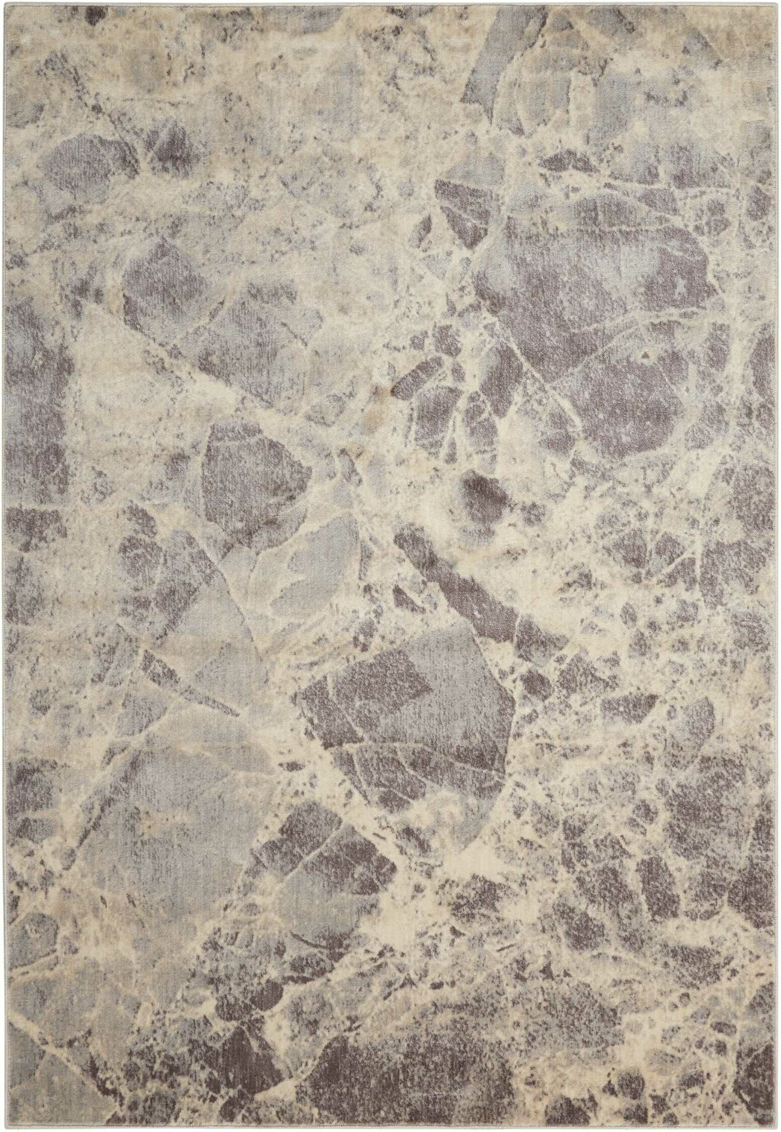 Kirsten Gray Area Rug Rug Size: Rectangle 3'6