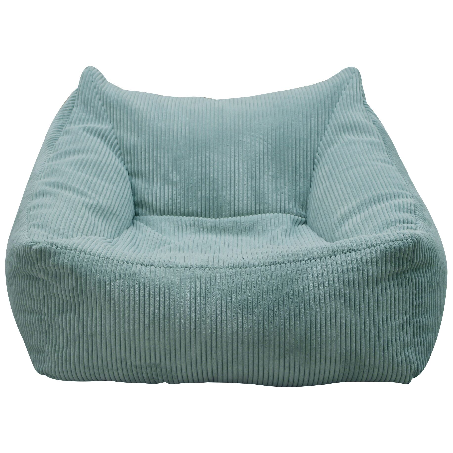Foam Bean Bag Chair Upholstery: Spa Blue