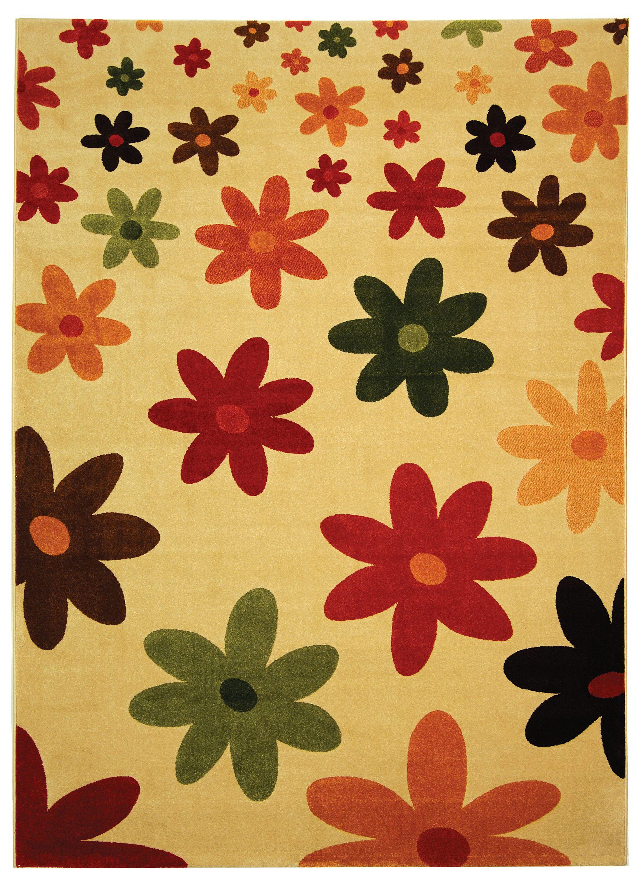 Nanette Beige Area Rug Rug Size: Rectangle 6'7