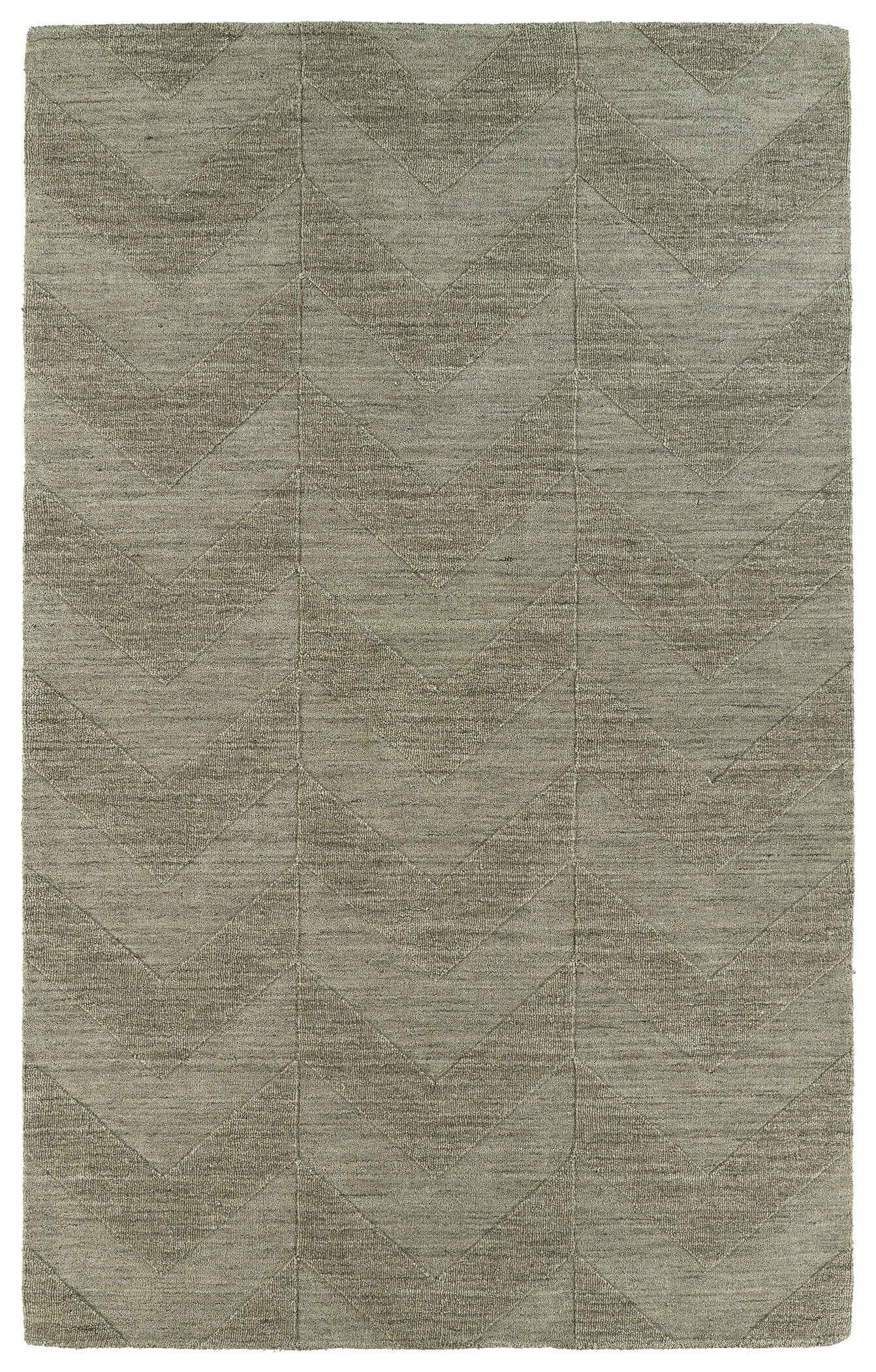 Dobson Light Brown Wool Geometric Area Rug Rug Size: Rectangle 9'6