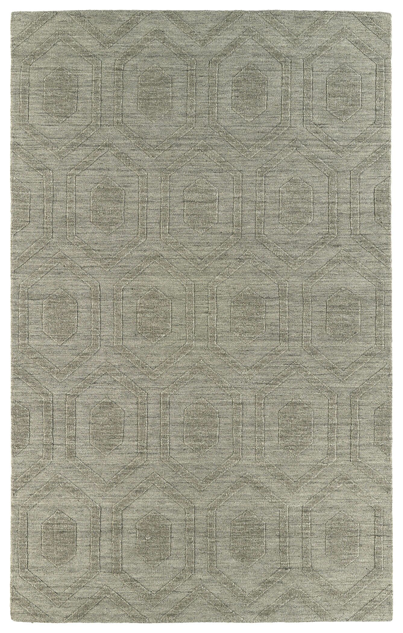 Dobson Light Brown Geometric Area Rug Rug Size: Rectangle 9'6