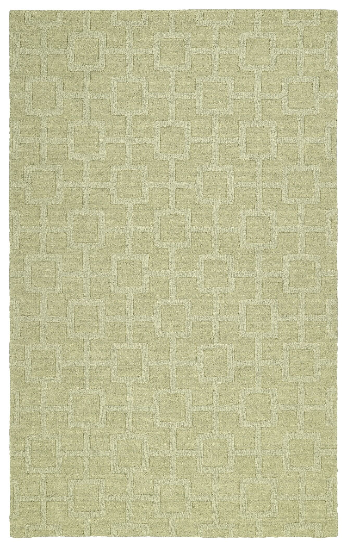 Dobson Handmade Celery Area Rug Rug Size: Rectangle 8' x 11'