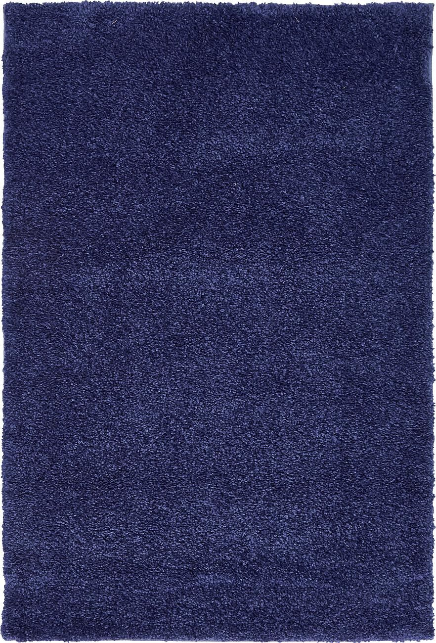 Bonnell Navy Blue Area Rug Rug Size: Round 6'
