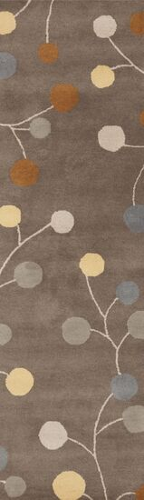 Diana Oyster Gray Area Rug Rug Size: Rectangle 10' x 14'