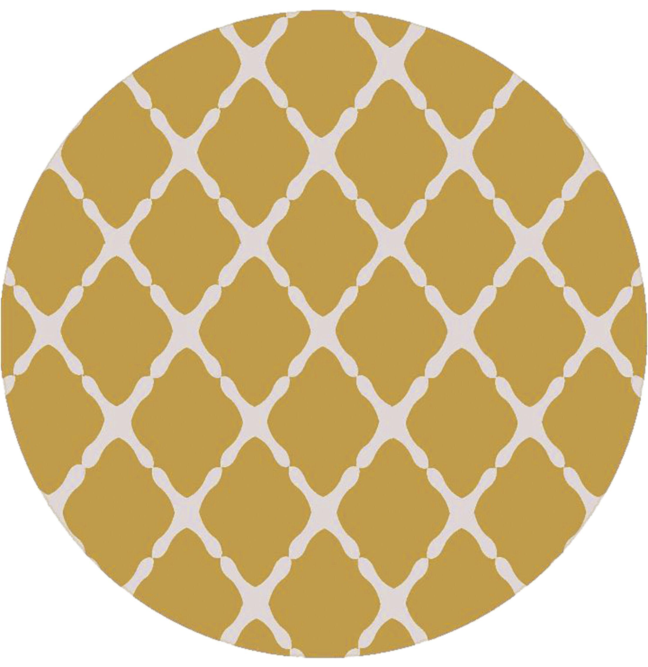Dixfield Gold Indoor/Outdoor Area Rug Rug Size: Rectangle 9' x 12'