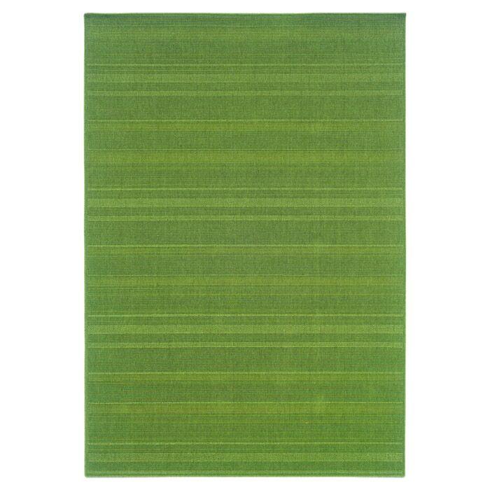 Kelli Green Indoor/Outdoor Area Rug Rug Size: Rectangle 8'6