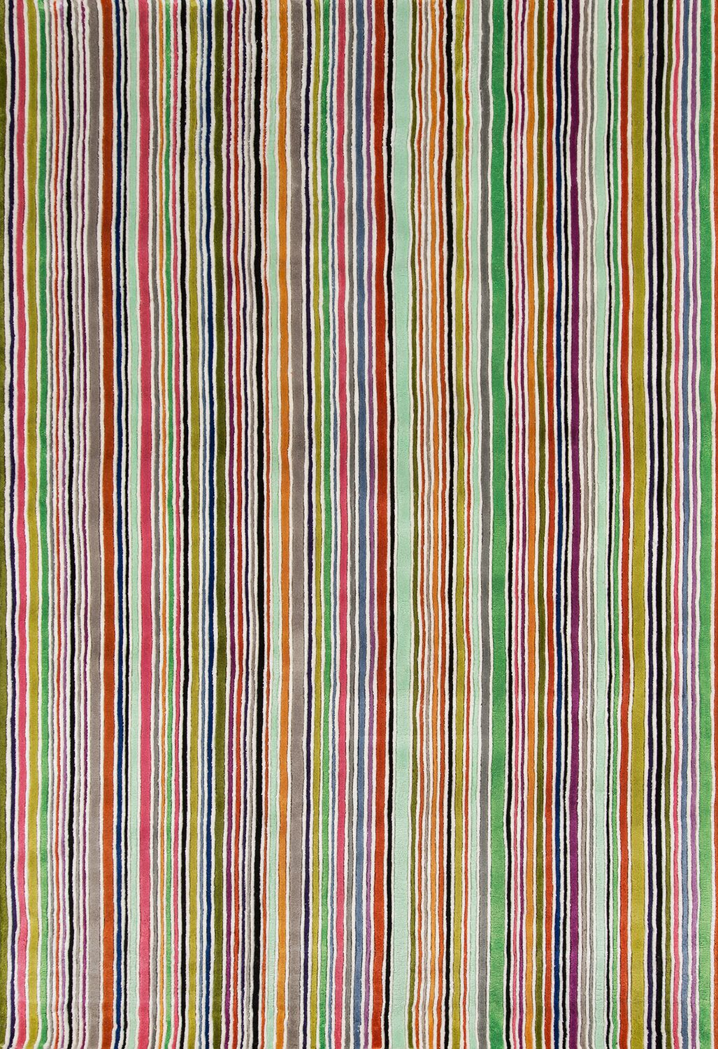 Despina Hand-Tufted Striped Area Rug Rug Size: Rectangle 5'3