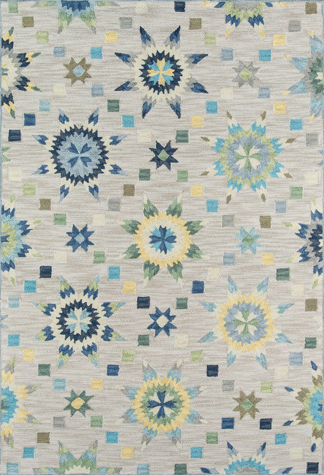 Arroyo Gray Area Rug Rug Size: Rectangle 5' x 7'6