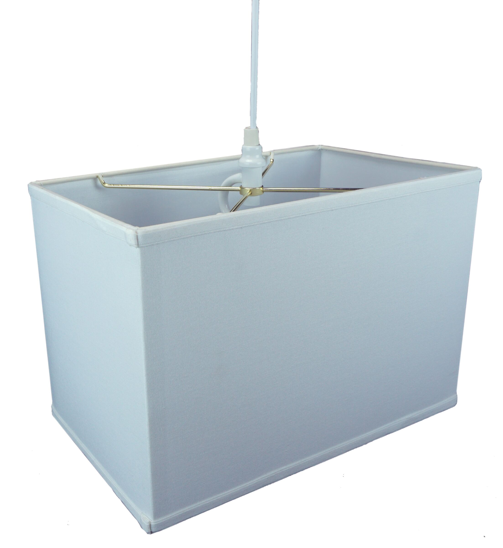 Dov 1-Light Mini Pendant Shade Color: White, Size: 11