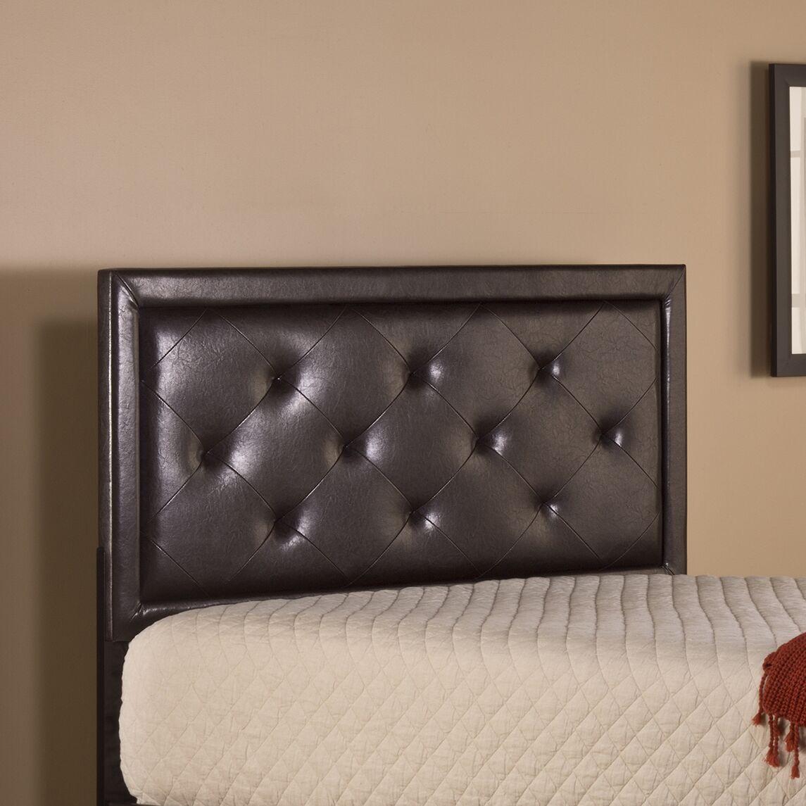 Caddo Upholstered Panel Headboard Size: King