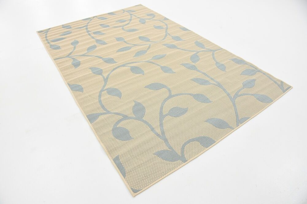Kindig Beige Outdoor Area Rug Rug Size: Rectangle 5' x 8'
