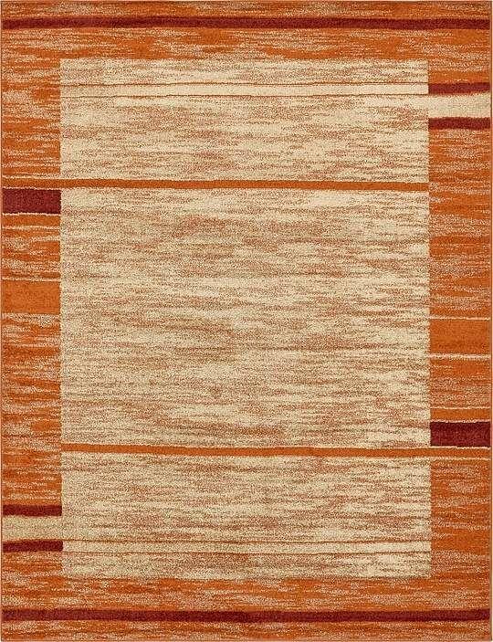 Bryan Terracotta Tibetan Area Rug Rug Size: Rectangle 9' x 12'