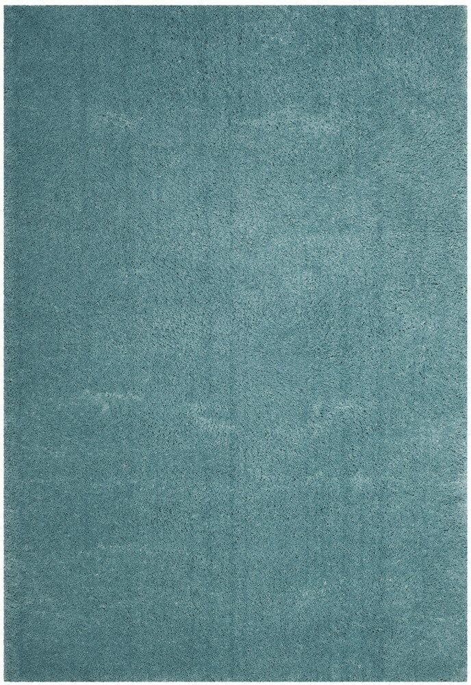 Schmitt Blue Area Rug Rug Size: Rectangle 4' x 6'